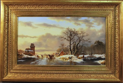 Art Conservation just completed on this Dutch Old Master