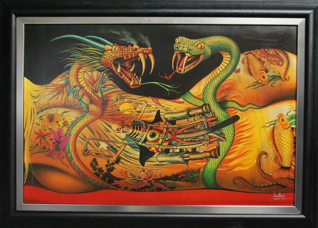 Giclee by David Mann, Delirium Flesh