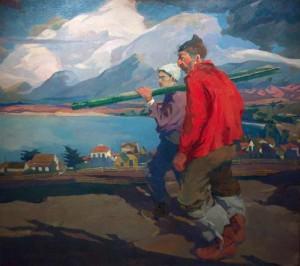 Men of the Sea By Armin Hansen