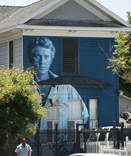 Steve McQueen Monument by Kent Twitchell