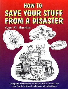 Save Your Stuff Book Cover 1st Edition