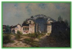 Edwin Deakin's painting of San Juan Capistrano