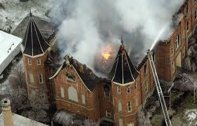Provo Tabernacle Burns in 2010