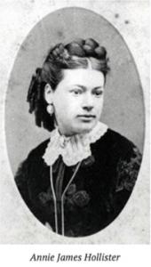 Annie James Hollister