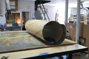Art conservation treatments undo previous poor quality restorations