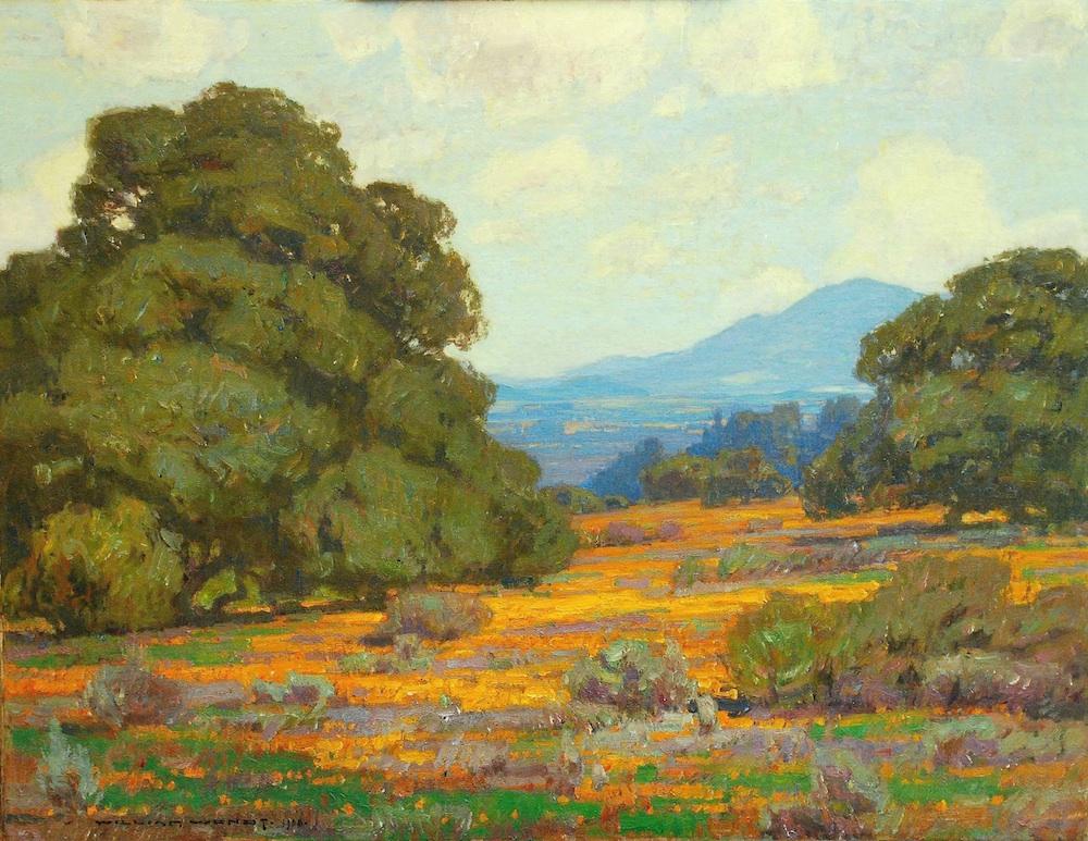 William Wendt California Poppies