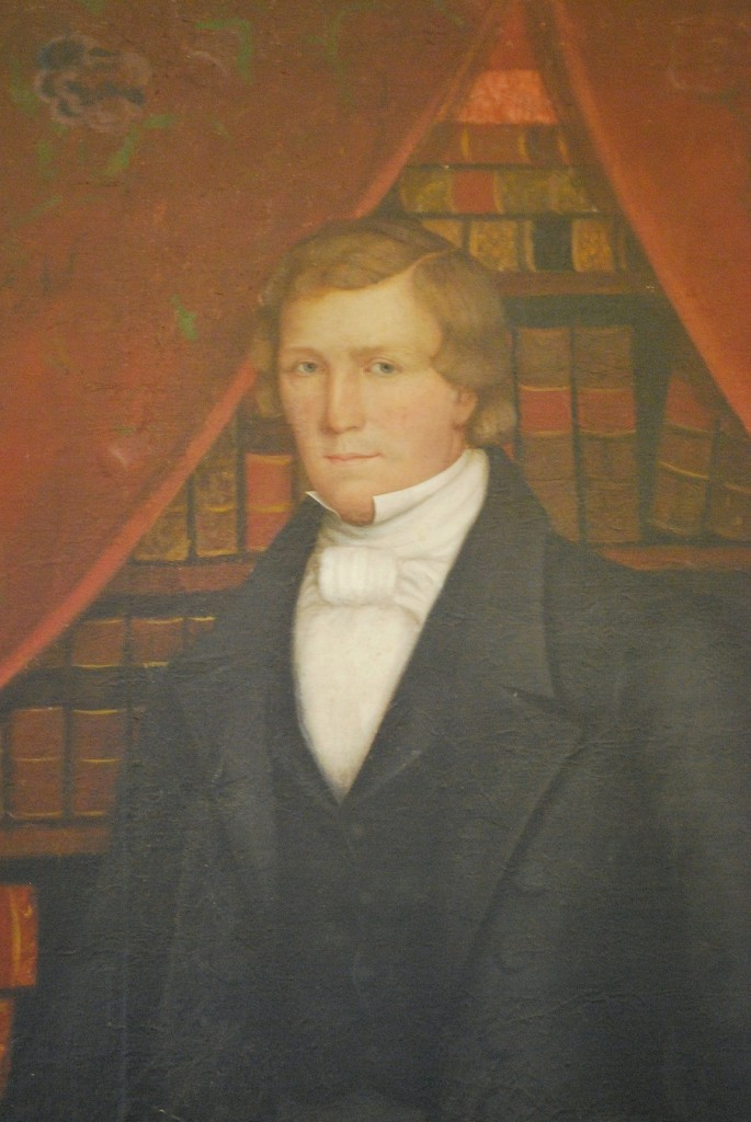Brigham Young in Nauvoo  portrait detail