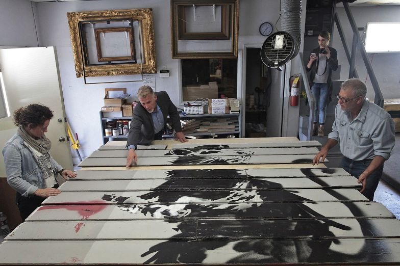 Fine Art Conservation Laboratories helps to save mural by Banksy