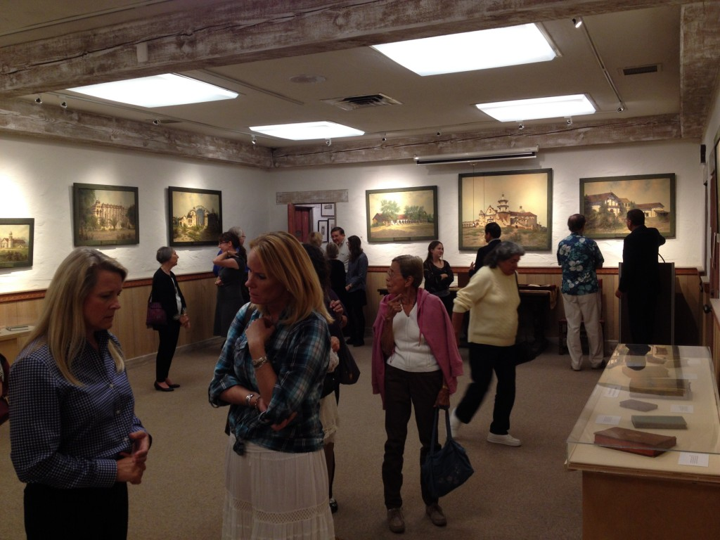 Open House to Review Painting Restoration of Missions of California by Edwin Deakin