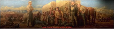 Cowboy Camp, Price Utah