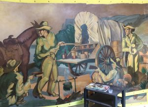 Detail from History of Ranching by Buck Winn