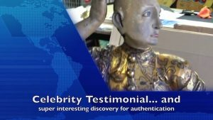 Painting restoration celebrity testimonial